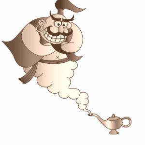 魔法のランプ